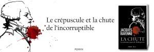 La chute Les derniers jours de Robespierre de Jacques Ravenne