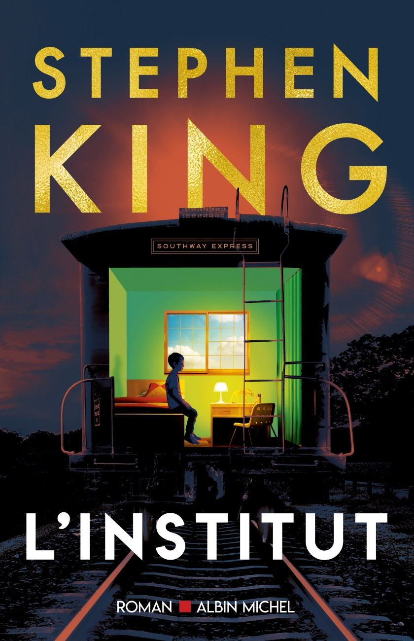 L'institut de Stephen King - Editions Albin Michel